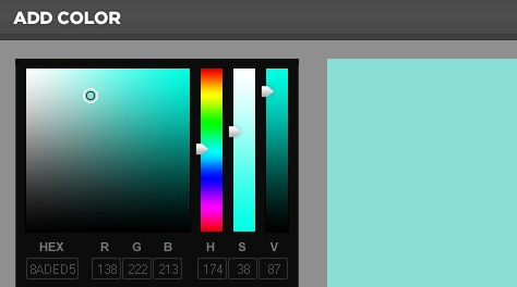 DHTML Color Picker